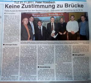 TLZ 21.11.2011  Peter Rossbach