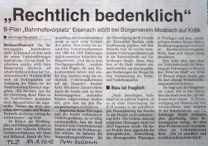 TLZ 17.01.2012 Peter Rossbach